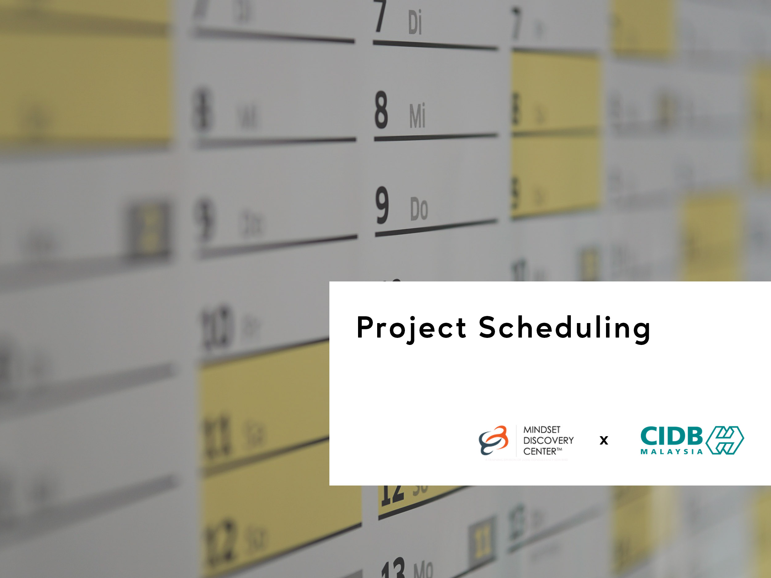 project-scheduling